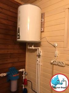 Автономное водоснабжение частного дома в Воробьево