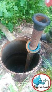 Кессон для скважины в Икша