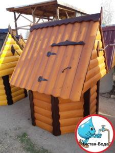 Домик для колодца в Новая Ольховка