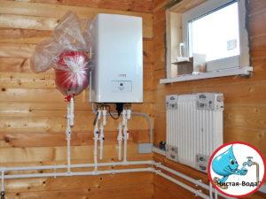 Отопление частного дома в Новая Ольховка